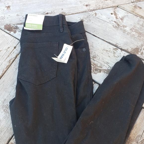 Old Navy Denim - Black skinny Jean's new